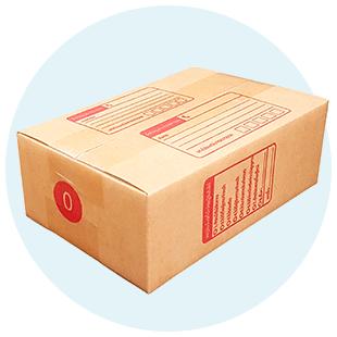 กล่องพัสดุไปรษณีย์ แพ็คของ กล่องลัง