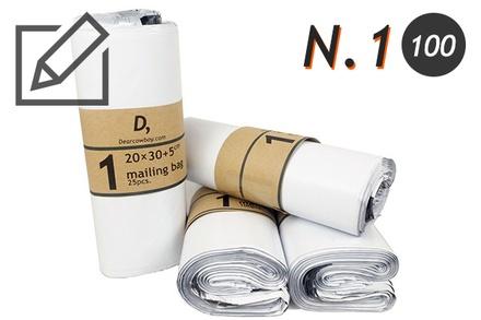 บทความซองไปรษณีย์พลาสติก (20x35cm) เบอร์ 1 (แนะนำสินค้า)